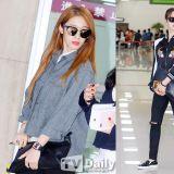 T-ara返韓亮相機場 街拍不輸海報