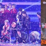 《2018 SBS歌謠大戰》BTS防彈熱唱六首熱門曲氣氛超high,最後還在舞台上謙虛行大禮