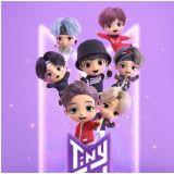 小小BTS「Tiny Tan」來啦!以防彈少年團角色為基礎的手遊公開