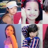 纪录片中公开了 BLACKPINK 的童年照!4名成员小时候都好可爱,与现在的样貌差距不大!