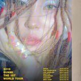 终於完成自己的梦想!宣美将举办首个SOLO世界巡回演唱会,在首尔、北美、香港和台北开唱等地开唱!