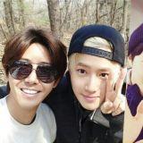 太好笑!韓網友分享爸媽登山時偶遇光熙&EXO SUHO