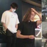 網友目擊金宇彬出現在李鍾碩的咖啡廳裡!長髮披肩 臉色、狀態看起來不錯