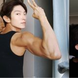 李準基公開自己健身的成果,並秀出手臂肌肉!粉絲們紛紛表示:「好Man」