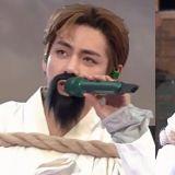 【有片】V貼假鬍子&扮囚徒!BTS防彈少年團線上見面會《大吹打》舞台太有趣