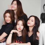 【多图】Girl's Day出道10周年合影!四姐妹真的太温馨啦~❤