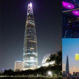 在韩国最高的乐天世界塔上送走2018迎接2019吧!