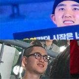 適逢週末…休假的D.O.昨晚(29日)出現在EXO演唱會上!滿臉笑容讓粉絲們直呼可愛