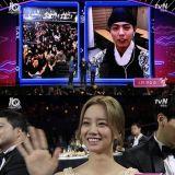 《tvN10 奖》朴宝剑获亚洲奖 感言让双门洞五人帮团聚!
