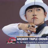 韩女射箭手奥运会勇夺3面金牌,却遭到韩国反女权者网路攻击