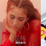 这次有压日期!SOMI确定6月13日SOLO出道 最近还与同学们拍摄高三毕业照