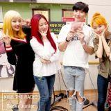 我们是SM Family!SJ利特、Red Velvet友爱前后辈合影