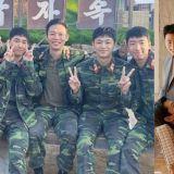 軍裝Bye、Bye!《愛的迫降》「北韓F4」楊慶元、李新英、劉秀彬、唐俊尚合體拍畫報