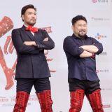 高昌锡&姜洪锡&李志勋亮相《Kinky Boots》制作发布会