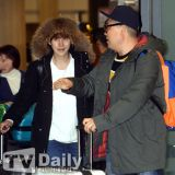 【機場時尚】《新西遊記3》返韓 姜鎬童大塊頭氣場全開