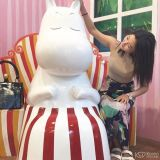 狎鷗亭的主題咖啡館:一起在Moomin&Me裡尋找嚕嚕米吧~