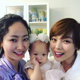 Wonder Girls先藝二寶滿周歲Party 成員譽恩到場祝賀