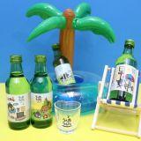 矮胖胖超萌! 韓國燒酒「初飲初樂」再推卡通迷你版,單瓶價格僅1000元韓幣