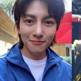 帥哥的朋友也是帥哥!EXO燦烈為正在拍攝《便利店新星》的池昌旭送上應援餐車!