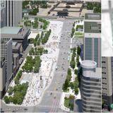 首尔光化门广场要变样了!一半车道改成行人专用区