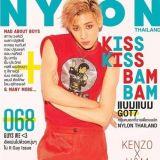 GOT7 BamBam 衣錦還鄉 隻身登〈NYLON〉泰國版封面