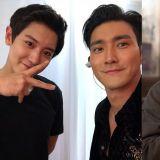 《阿爾罕布拉宮的回憶》劇情令人好奇!SJ始源SNS分享與EXO燦烈的合照並問:「為什麼會製作那個遊戲呢?」