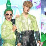 K-POP界第一奇葩男團又來作妖了!發佈會穿搓澡巾,上班路直接當眾洗澡了XD