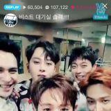 BEAST首次五人組參加韓國活動大成功
