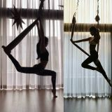 孙娜恩和Jennie、Jisoo在同一个地方练空中瑜伽?拥有完美身材的美妞们啊~