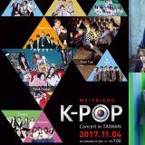 韩流KPOP演唱会11月初将在台中举办!TEENTOP、KNK等9组偶像在台体大热情开唱~!