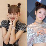 韩国人气女偶像,春天必出经典的「双丸子头」造型大合集!