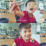 泰吳長大囉!爸爸Ricky Kim分享兒子首次用英文與他對話的影片