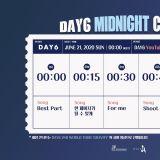 DAY6推出线上《午夜演唱会》,Myday记得一起死守萤幕第一排!