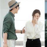 眼裡充滿愛的準夫婦! 李尚禹&金素妍飛往維也納拍攝新婚畫報!