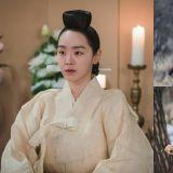 《哲仁王后》今晚第18集劇照,換上喪服、悲傷的中殿,與堂哥對峙的哲宗受了重傷