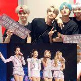 【100 大偶像团体品牌评价】女团崛起 BTS防弹少年团成前三名唯一男团!
