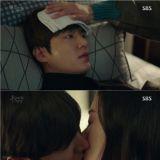 《藍色海洋的傳說》全智賢與李敏鎬的療癒Kiss    愛情線正式啟動