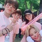 少女時代 & NCT合照! 一起參加SM家族活動,前輩和晚輩都好暖哦~