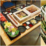 超過分的美食組合:海鮮鍋/豬腳+涮涮鍋+生牛肉壽司+自助吧 連電視台都爭相報導!