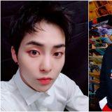 揭開神秘面紗  EXO XIUMIN公開愛貓「金炭」的照片啦!