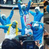 【有片】《新西遊記7》新路透!歷代級造型再加一 全員變為「藍精靈」在愛寶樂園遊行、跳舞