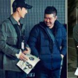 《MAN X MAN》金編劇的超級義氣 !為朴海鎮加油探班《奶酪陷阱》片場