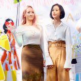 众女星出席品牌活动 Wonder Girls誉恩恋情曝光后首亮相