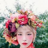 Brown Eyed Girls GainSOLO回歸 頭戴花冠扮花仙子