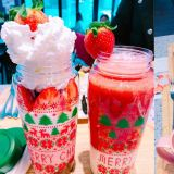 「U:DALLY」的草莓季来啦!饮品、甜点都有满满的草莓,草莓控一定不能错过啊!