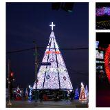 【釜山必玩】釜山海雲台耶誕城,華麗聖誕樹及愛心走道 怎麼拍都很美