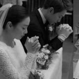 这个画面真的太美了!Rain&金泰希婚礼现场照曝光!