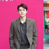 EXO世勋为Super Junior始源新剧《各位国民》送上零食车应援
