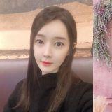 T-ara出身雅凛晒7个月孕肚美照 优雅黑裙低头温婉一笑