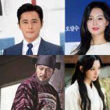 張東健、宋仲基、金智媛主演古裝劇《阿斯達年代記》!來看看他們之前的古裝造型吧!